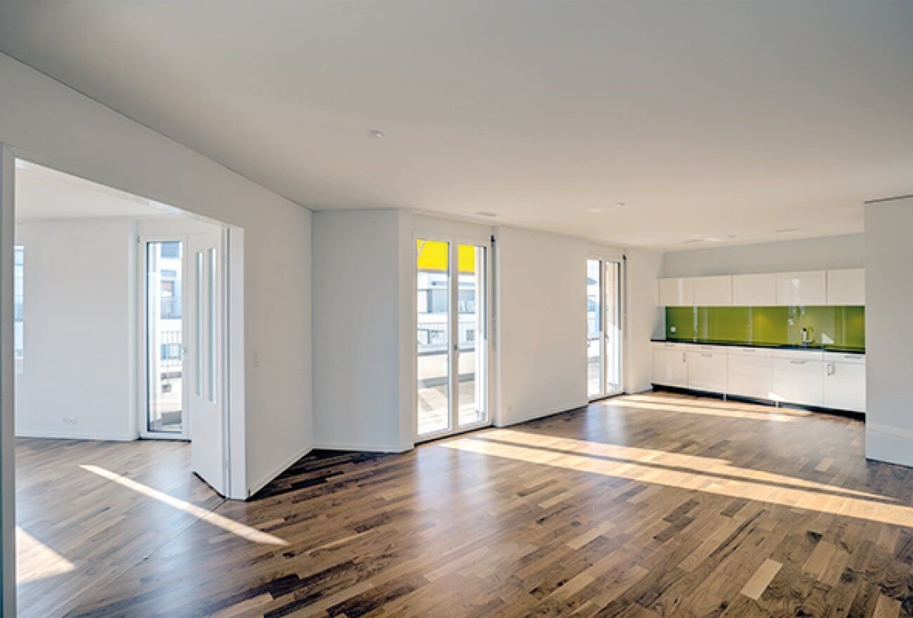 Innenansicht Wohnung im Lindenhof