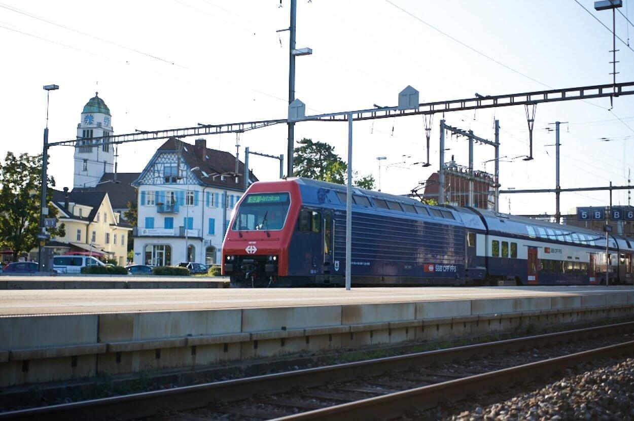 Nahe am Bahnhof Dietikon