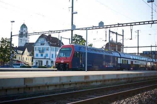 Verkehrsanbindung mit dem Zug