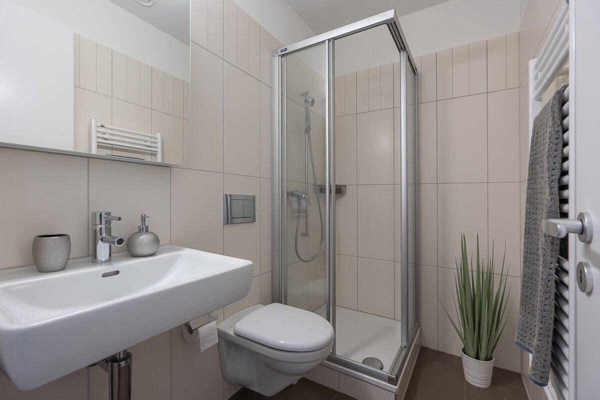 Gäste-WC Musterwohnung